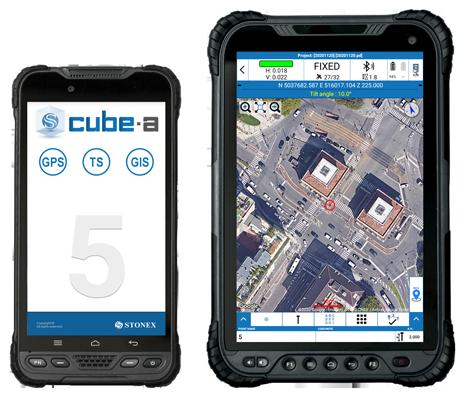 stonex cube a survey software