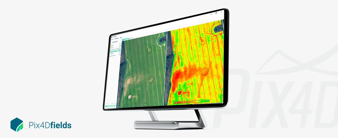 pix4d fields dronemapping software