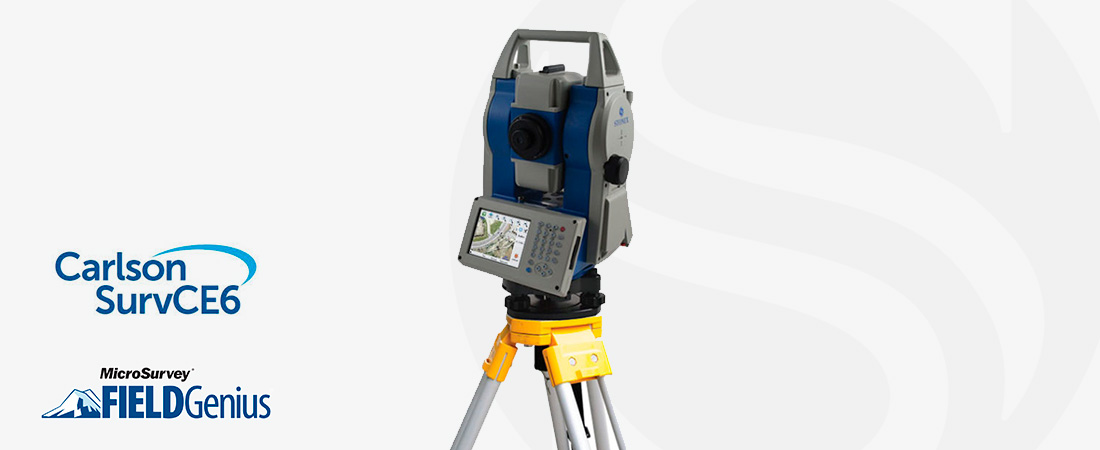 stonex r35 total station software